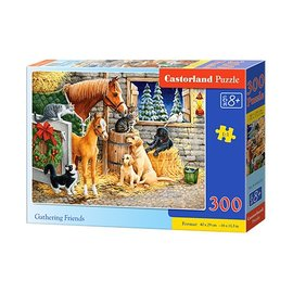Castorland puzzels PUB030255 - Gathering Friends 300 stukjes
