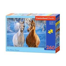 Castorland puzzels PUB27378 - The winter horses 260 stukjes