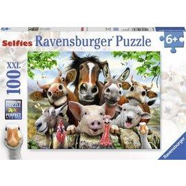 Ravensburger PU107698 - Farmyard Selfie 100 stukjes
