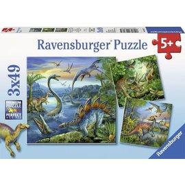 Ravensburger PU093175 - Dinosauriers (3 x 49 stukjes)