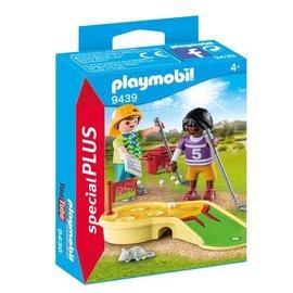 Playmobil pl9439 - Kinderen met minigolf