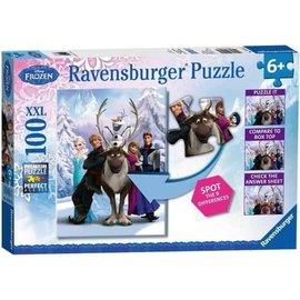Ravensburger PU105571 - Frozen 100 stukjes