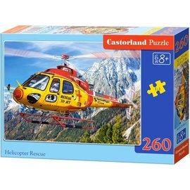 Castorland puzzels PUB27248 - Helicopter rescue 260 stukjes