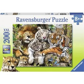Ravensburger PU127214 - Een tukje doen 200 stukjes