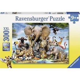 Ravensburger PU130757 - Afrikaanse dieren 300 stukjes