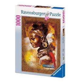 Ravensburger PU153527 - Nigeriaanse dame 1000 stukjes