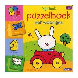 Boeken DT580630 - Lange oortjes - Mijn leuk puzzelboek met woordjes (2-4 j)