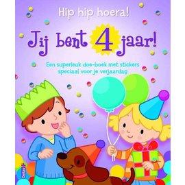 Boeken DT602704 - Hip hip hoera! Jij bent 4 jaar!