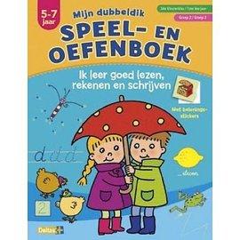 Boeken DT621009 - Mijn dubbeldik speel- en oefenboek (5-7 j) - Lezen, rekenen  en schrijven