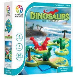 SmartGames SG 282 - Dinosaurs Mystic Islands