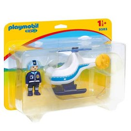 Playmobil pl9383 - Politiehelikopter