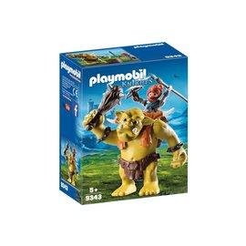 Playmobil PL9343 - Reuzentrol met soldatendwerg