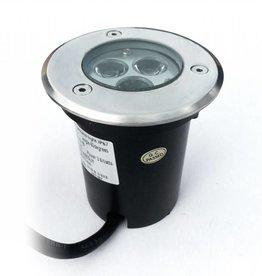Ledika LED Outdoor Boden Spot 3W RGB