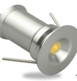 Ledika LED Micro Einbaustrahler Set 6st 1W warmweiß dimmbar