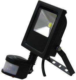 Ledika LED Scheinwerfer 10W IP65 externer PIR Sensor tageslichtweiß
