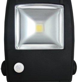 Ledika LED Scheinwerfer 10W IP65 interner PIR Sensor tageslichtweiß