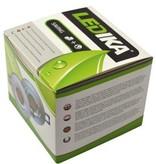 Ledika Ledika LED Einbaustrahler driverless silberfarben 6W warmweiß dimmbar (nicht kippbar)