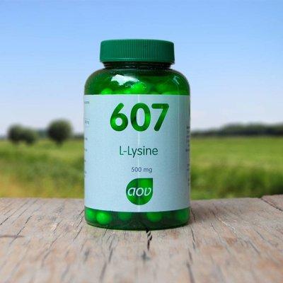 AOV L-Lysine 500 mg 607