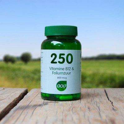 AOV 250 Vitamine B12 en Foliumzuur