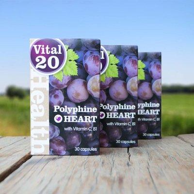 Vital 20 Polyphine Heart  3 stuks voordeelaankoop