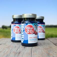 Vital 20 Krill Olie Omega-3 Extra Strong  3 stuks