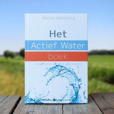 Het Actief Water boek, over alkaline water en gezondheid