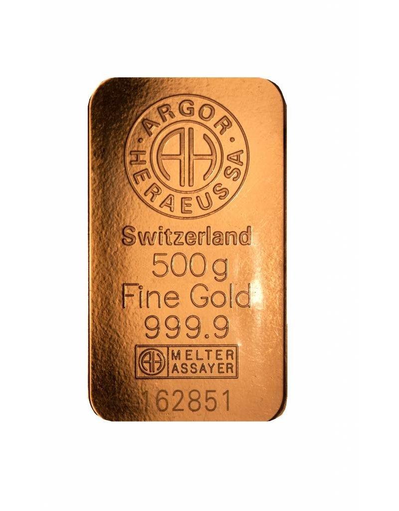 Heraeus 500g Gold Heraeus Barren Münzen Kaufen