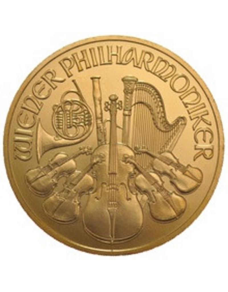 Münze österreich 110 Oz Gold Philharmoniker Münzen Kaufen