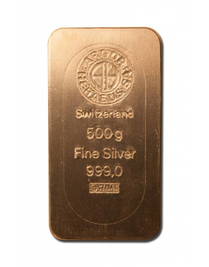Heraeus 500g Silber Heraeus Barren Münzen Kaufen