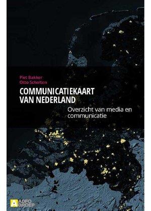 Piet Bakker en Otto Scholten Communicatiekaart van Nederland