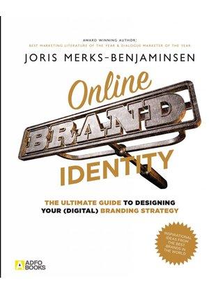Joris Merks-Benjaminsen Online Brand Identity