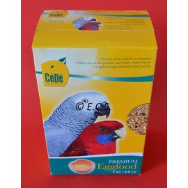 Cédé CeDe  Eivoer Grote  Parkieten en Papagaaien 1kg