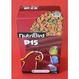 NutriBird 1kg Nutribird P15 Tropical