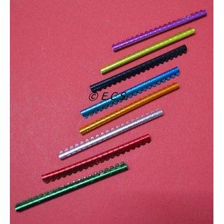 Knijpring metaal2,5 mm Staafje van 20 Stuks
