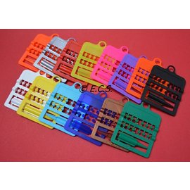 Splitring Plastic 3,0 mm Set van 12 Stuks