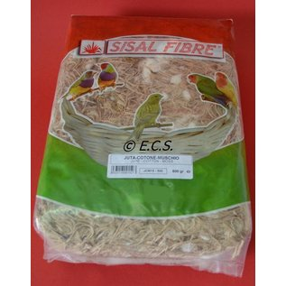 Sisal Fibre Jute Baumwolle Moss 500gr
