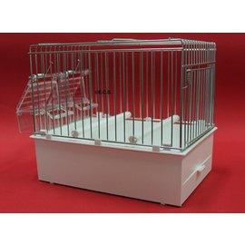 Transportkäfig / Cage Deployment Weiß 24 x 22 x 17 cm