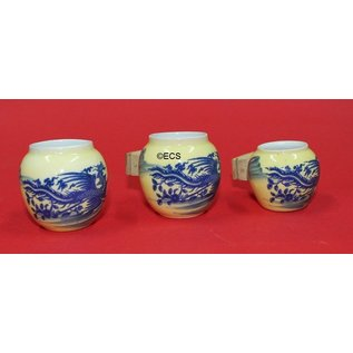 3-Set Porzellan Behälter hängen