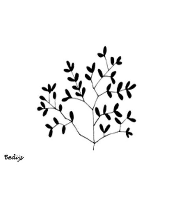 Heindesign Stempel - Tak met Bladeren