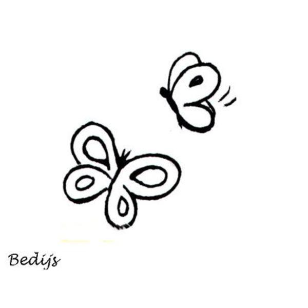 Stempel - Vlindertjes