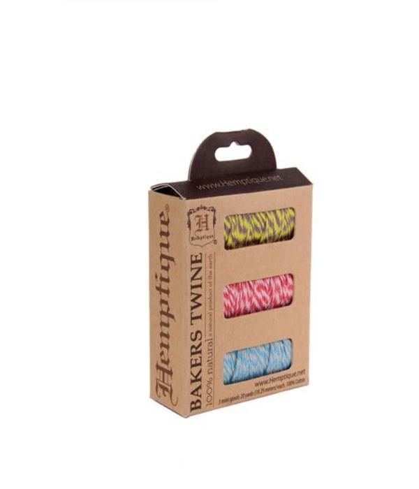 Hemptique Bakers Twine - Hula Hoop