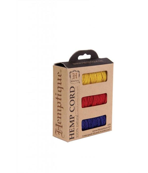 Hemptique Box- Hennep Touw - Rio