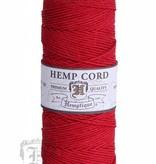 Hemptique Hennep Touw - Red #20