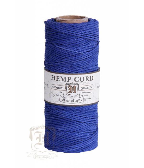 Hemptique Hennep Touw - Blue20lb