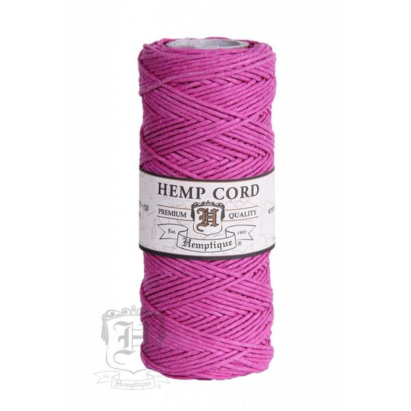 Hennep Touw - Bright Pink 20lb