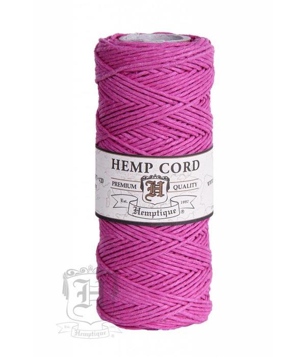 Hemptique Hennep Touw - Bright Pink #20