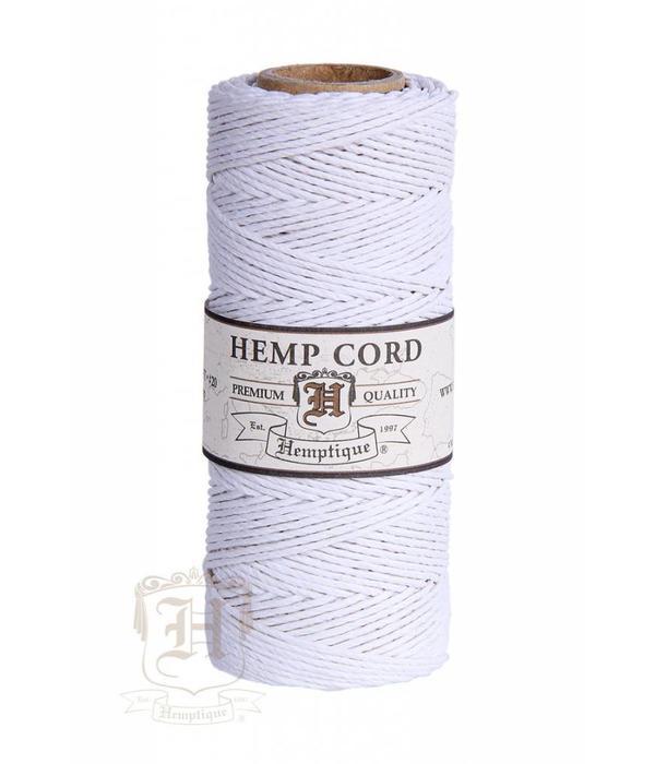 Hemptique Hennep Touw - Wit - 20lb