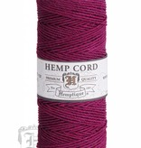 Hemptique Hennep Touw - Dark Pink - 10lb
