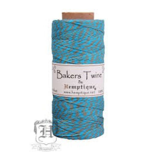 Bakers Twine - Turquoise/Dusty Olive