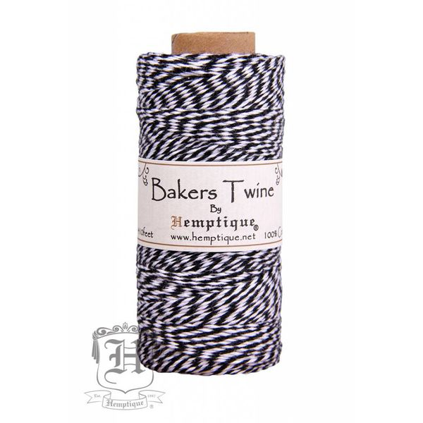 Bakers Twine - Zwart/Wit